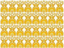New Thai Art Pattern Style Stock Photo