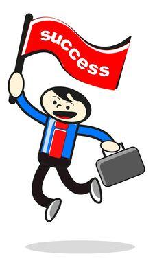 Free Success Businessman Stock Photo - 21343500