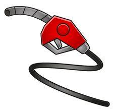 Illustration Of Fuel Station Icon Stock Photos