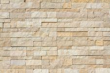 Free Stone Wall Made With Blocks Stock Photography - 21344422