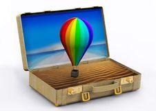 Free Travel Suitcase Stock Image - 21347021