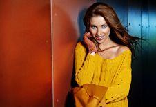 Free Fashion Woman In Autumn Royalty Free Stock Photos - 21347178