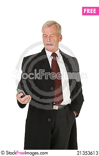 Free Business Man Stock Photos - 21353613