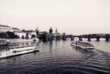 Free Prague - Charles Bridge Royalty Free Stock Image - 21353116