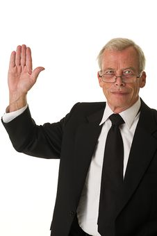 Free Business Man High Five Royalty Free Stock Photos - 21353688