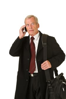 Free Business Man Travelling Royalty Free Stock Photos - 21353748