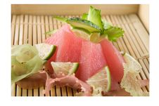 Free Raw Tuna Decorated Stock Photography - 21354772