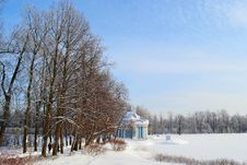 Free Winter Landscape In Tsarskoe Selo, Russia Royalty Free Stock Photos - 21356148