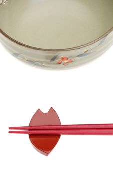 Free Chopstick And Rice Bowl Royalty Free Stock Photography - 21357947