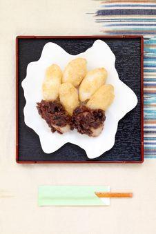 Free Japanese Traditional Dumpling Stock Photo - 21358070