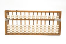 Free Old Chinese Abacus Stock Image - 21359611