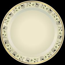 Free White Plate Royalty Free Stock Photo - 21359735
