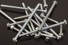 Free Screws In Crowd Royalty Free Stock Photo - 21360205