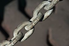 Free Tyre And Chain Royalty Free Stock Image - 21360306