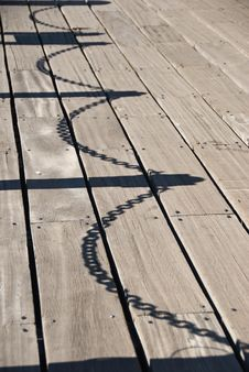 Free Chained Shadow Stock Photo - 21360350