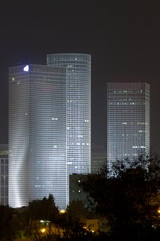 Free Azrieli Center Royalty Free Stock Images - 21362339