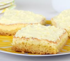 Free Three Lemon Bars Royalty Free Stock Image - 21363056