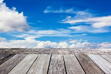 Free Terrace In The Sky Stock Image - 21363511