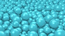 Free Balls Cyan Royalty Free Stock Photography - 21363707