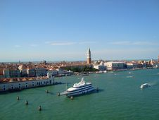 Free Venice Panorama Royalty Free Stock Photography - 21363797