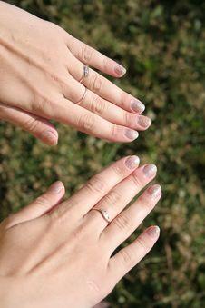 Free Ногти Beautiful Nails женские руки Stock Image - 21364021