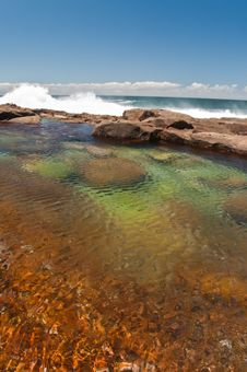 Free Rock Pool Royalty Free Stock Photo - 21364095