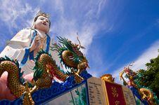 Free Kuan Yin At Khao Sam Muk, Chonburi. Royalty Free Stock Photo - 21364335