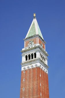 Free Tower In Venice Royalty Free Stock Image - 21364886