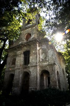 Ruined Church Royalty Free Stock Photo