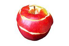 Free A Peeled Apple Stock Image - 21366791