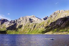 Free Scandinavian Fjords - Mountains, Sea And Blue Sky Stock Photos - 21366903