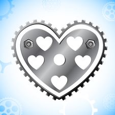 Free Mechanical Heart Royalty Free Stock Photos - 21367358