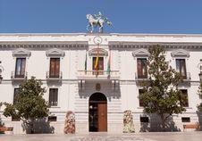 Ayuntamiento De Granada Royalty Free Stock Photos