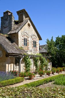 Old French House Royalty Free Stock Images