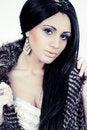 Free Beautiful Fashion Model Portrait Royalty Free Stock Photography - 21377787