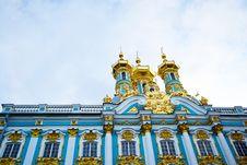 Free Catherine Palace. Tsarskoe Selo Stock Images - 21371044