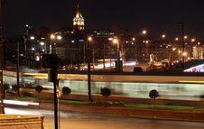 Free Galata Bridge With Galata Tower Stock Photography - 21373452