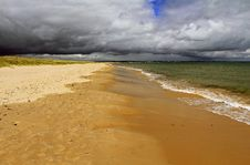 Storm Clouds Over Studland Bay 142 Stock Photos