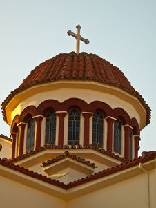Free Detail Of Greek Church Stock Photography - 21373762