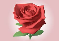 Free 3D Red Rose Royalty Free Stock Photos - 21374418