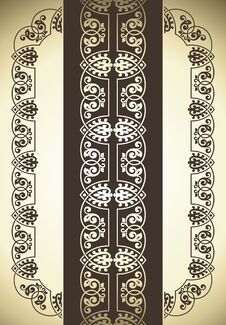 Free Vector Set Of Ornate Page Decor Elements Stock Photography - 21374602