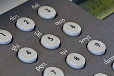 Free Fax Machine Keypad Stock Image - 21374871