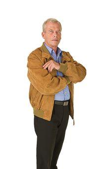 Free Senior Man Royalty Free Stock Images - 21375629