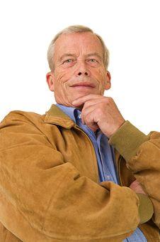 Free Senior Man Stock Photography - 21375642