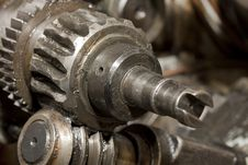 Free Old Gears Stock Image - 21377831