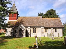 Free An English Village Church And Tower Stock Photography - 21378552
