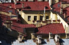 Free Old Roofs Stock Images - 21378744