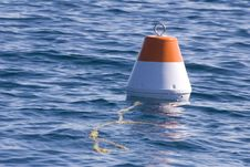 Free Red And White Buoy Stock Photo - 21379680