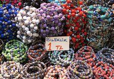 Oriental Bead Bracelet Stock Image