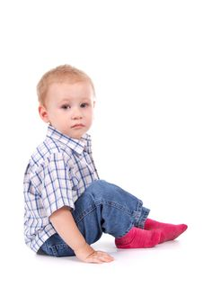 Free Little Boy Royalty Free Stock Photos - 21382738